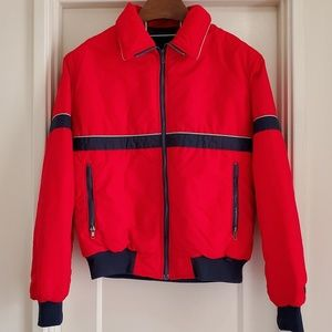 VTG Swing West Winter Weather Snow Red Jacket
